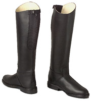 Ladies Made to Measure  black Long Riding Boots / Tall Riding Boots