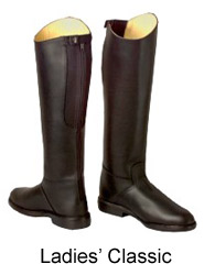 Long riding boots, riding boots, tall riding boots, dressage boots, field boots